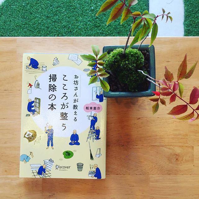 昨晩Eテレにて、作務(掃除)のことを詳しく#お寺の知恵拝借 という番組が放送されていました。ピカピカに磨かれた床と、ピカピカの肌をした修行僧の方々のストイックな姿。見とれてしまいました。そうそう、こんな本買っていたから読み直そうと思います。#おすすめの本  ですよ。今朝はいつもより1時間早く起きて、植物達に水遣りを。それから、しっかり作務をいたしました。トイレは特に集中して、念入りに磨きあげます。ココロがすぅとなった朝でした。 #おすすめの本 #本が大好き #ミニ盆栽#ハゼの木のミニ盆栽#Eテレ好き#趣味どきっ!が外せない
