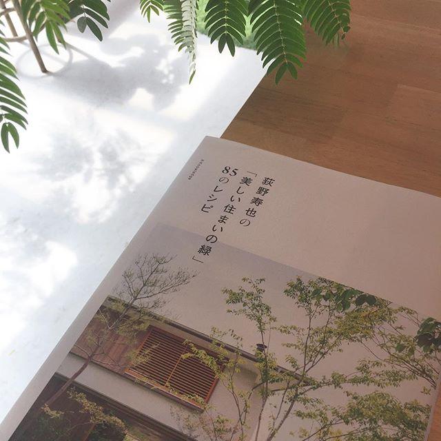 #おすすめの本 お庭の本です。専門の方もそうでない方も、大変興味深い内容が盛りだくさんです。誰にも教えたくないけれど、すでにアマゾンで人気ナンバーワンなのでした。荻野寿也の「美しい住まいの緑」85のレシピ#雑木の庭 #雑木 #こうようえん #メデルガーデン