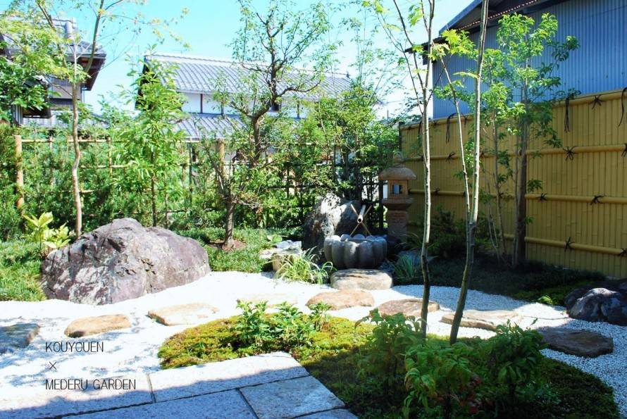部屋からの眺め 和の庭リノベーション