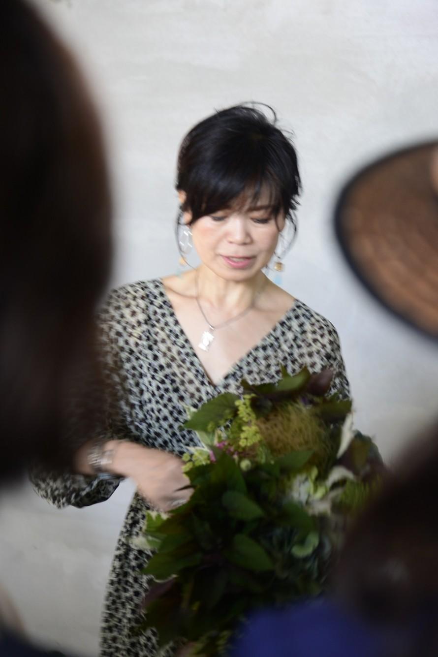 神田睦先生のアキイロ紫陽花レッスン