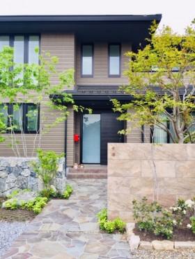 東近江市の庭