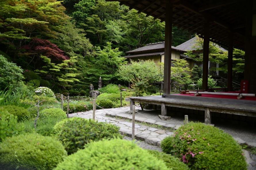 金剛輪寺の庭
